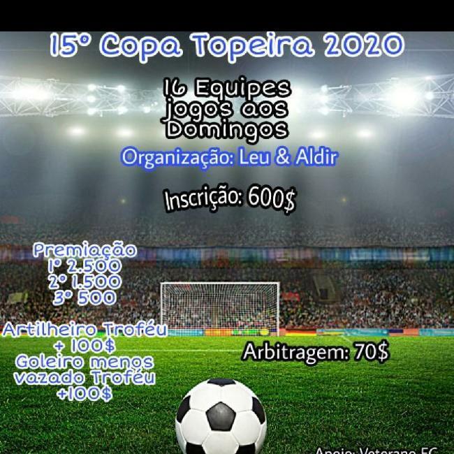Copa topeira 15